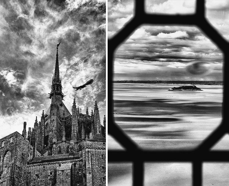 Photographies au Mont Saint-Michel